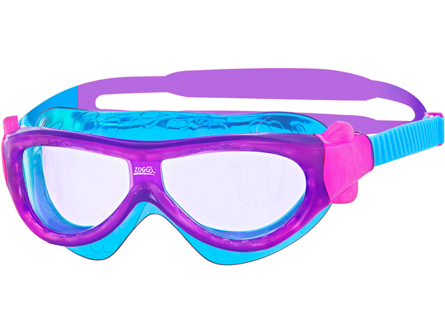 Zoggs Phantom Mask Kinder purple/light blue/clear